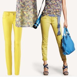 Cabi Yellow Jeans